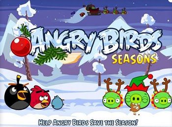 angry birds seasons, niveles, navidad, lanzamiento, actualización