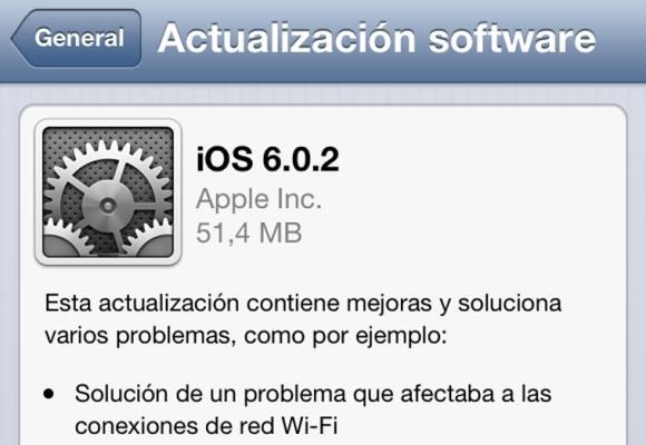 iOS 6.0.2, actualización, ios 6.1, lanzamiento, fecha, iphone 5, ipad mini, wifi, problemas, conexión