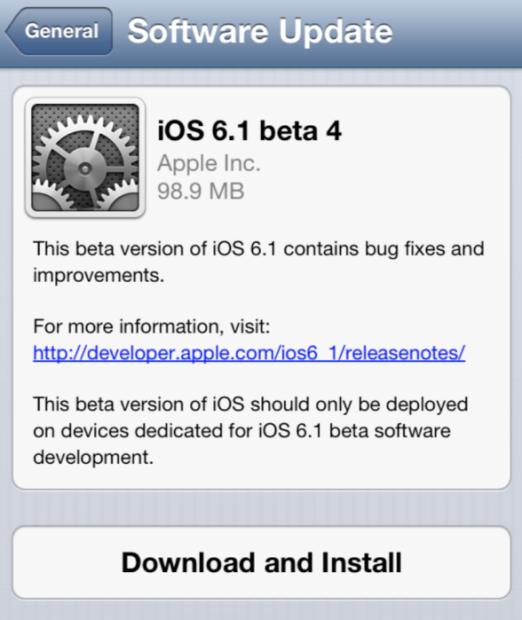 ios 6.1, jailbreak, untethered, 6.1, beta, lanzamiento, fecha