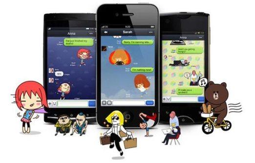 line, español, whatsapp, mensajería, iphone, ipad, ios