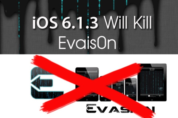 evasi0n, iOS 6.1.3, actualizar, apple, novedades, noticias, iphone, ipad